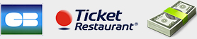 Carte bleue, tickets restaurant et liquide