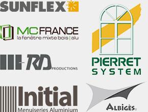 Logos de nos marques partenaires