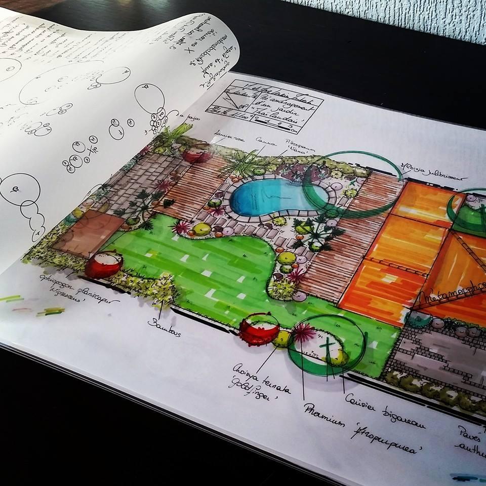 jardin et piscine à toulouse