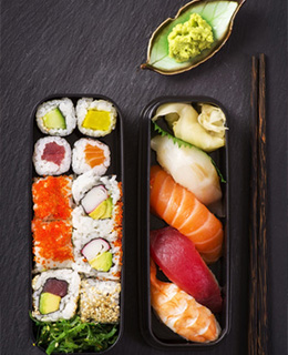 Nos sushis de qualité