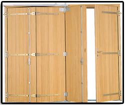 Porte de garage menuiserie germain for Porte fenetre 4 vantaux accordeon