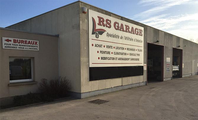 Rs garage rn 43 za de saint martin aire sur la lys rue for Garage saint martin