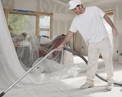 Nettoyage après un sinistre das une maison