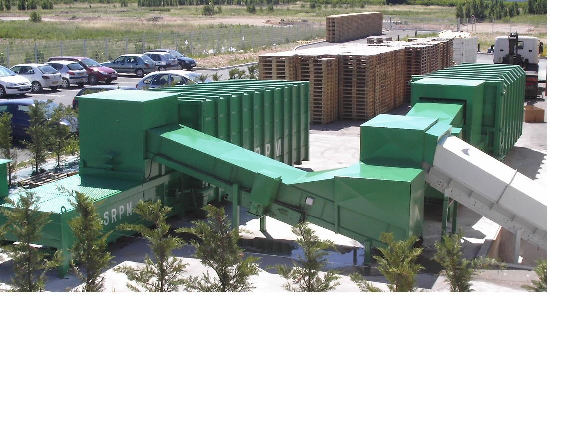 recyclage des matériaux SRPM