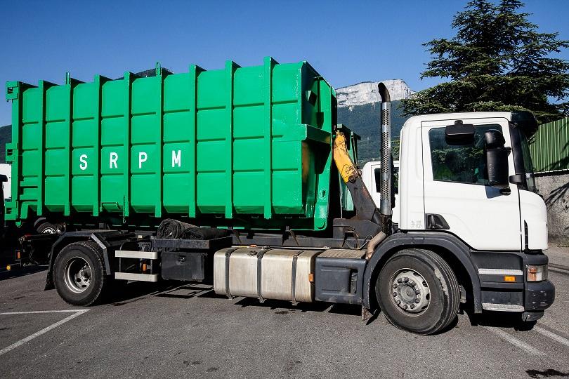 SRPM enlèvement de déchet et recyclage dans l'isère